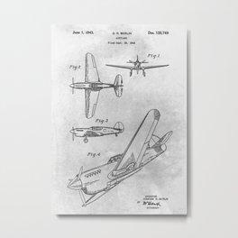 1942 Airplane Metal Print