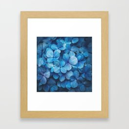 Fifty Shades of Blue Framed Art Print