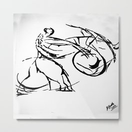 Jujitsu Metal Print