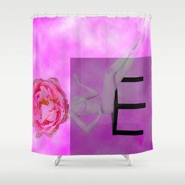Bashfulness Shower Curtain