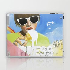Press Play Now Laptop & iPad Skin