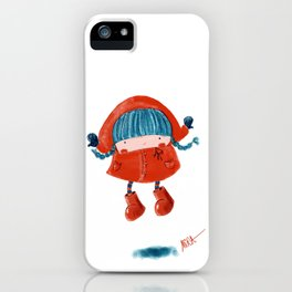 Red Ridinghood iPhone Case