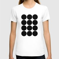 large T-shirts featuring Large Circles by Emily Kenney