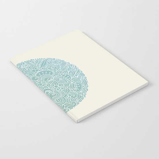 Detailed circle Notebook