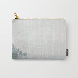 Annecy under the snow - French Alps Carry-All Pouch