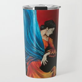 Spanish Flamenco Dancer Travel Mug