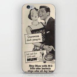 Dummies Don't Perspire iPhone Skin