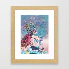 The Last Mermaid Framed Art Print