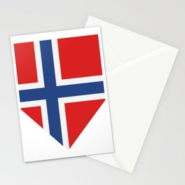Norway flag Stationery Cards