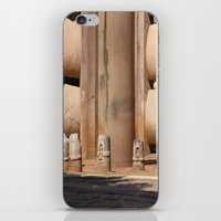buddhism iPhone & iPod Skins featuring Buddhism ancient place in Sanchi by Four Hands Art