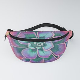 Winter Succulent Fanny Pack