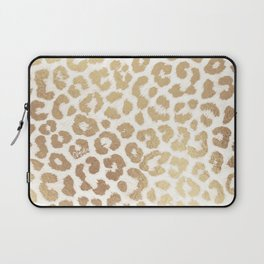 ReaL LeOpard - Greek Ancient Gold Laptop Sleeve