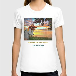 Shrine On The Lake. T-shirt