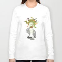 medusa Long Sleeve T-shirts featuring Medusa by Rod Perich