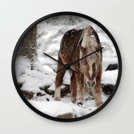 I have to go down now color Wall Clock