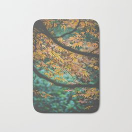 Japanese Maple Autumn Bath Mat