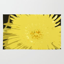 Iceplant Abstract Rug