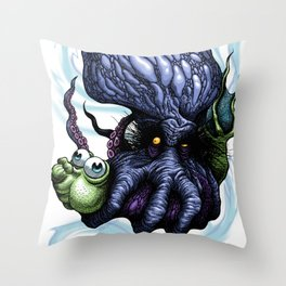 Squeezy Squeezy Throw Pillow