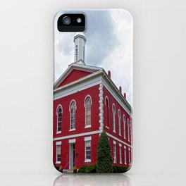 Iron County Courthouse in Ironton, Missouri iPhone Case