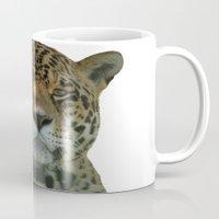 jaguar Mugs featuring Jaguar by Sean Foreman