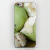 pear iPhone & iPod Skins featuring Pear by BiancaDejaNu