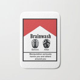 Brainwash Bath Mat