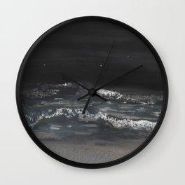 Ocean at Night Wall Clock