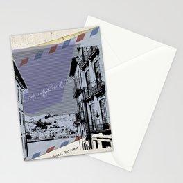 Porto, retro post card Stationery Cards