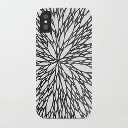 Chrysanthemum Burst iPhone Case