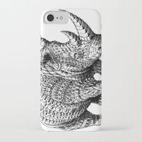 bioworkz iPhone & iPod Cases featuring Rhinoceros by BIOWORKZ