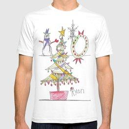 Festive Christmas Scene T-shirt