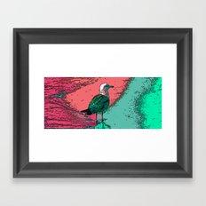 Seagull Tide Framed Art Print