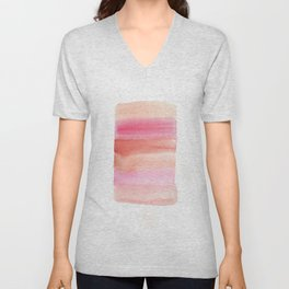Color Blocking 25 Unisex V-Neck