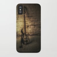 bass iPhone & iPod Cases featuring BASS-ICS by Andy Burgess