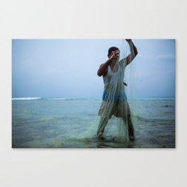 Dry Net Canvas Print