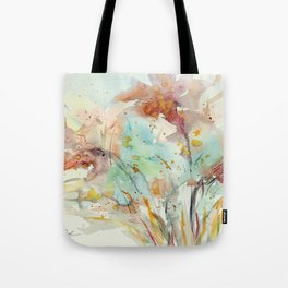 Autumn (abstract watercolor) Tote Bag