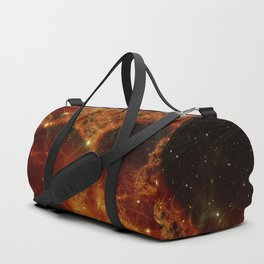 Fire Nebula Duffle Bag