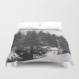 It´s wintertime Duvet Cover