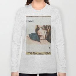 E is for Ennui Long Sleeve T-shirt
