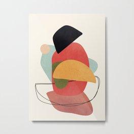 Abstract Shapes 15 Metal Print