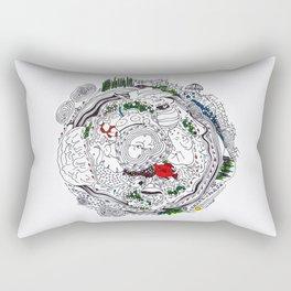 Life  of innocence Rectangular Pillow