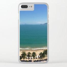 Nha Trang Bay Vietnam Clear iPhone Case