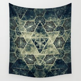 Sacred Geometry for your daily life -  Platonic Solids - IGNIS Wall Tapestry