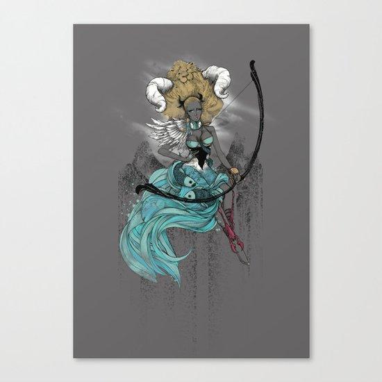 AFROZODIAC Canvas Print