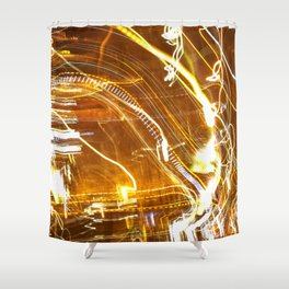 Hazy nights Shower Curtain