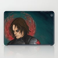 the winter soldier iPad Cases featuring Winter Soldier by toibi