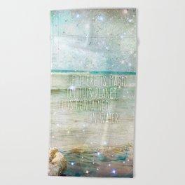 Aqua Magicae Beach Towel