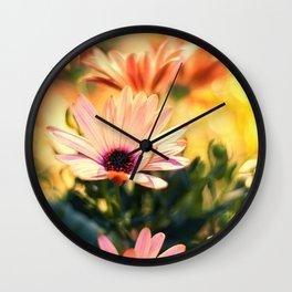A Piece of Summer Wall Clock