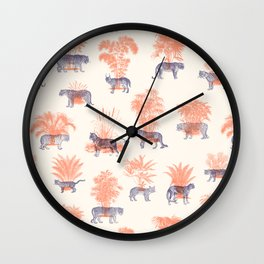 Where they Belong - Tigers Wall Clock