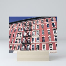 Lower East Side Red Mini Art Print